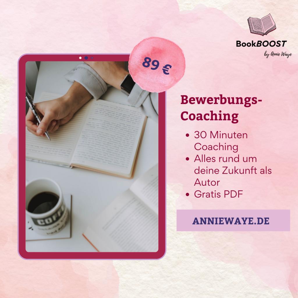 BookBOOST Autoren-Coaching: Coaching zu deiner Verlagsbewerbung