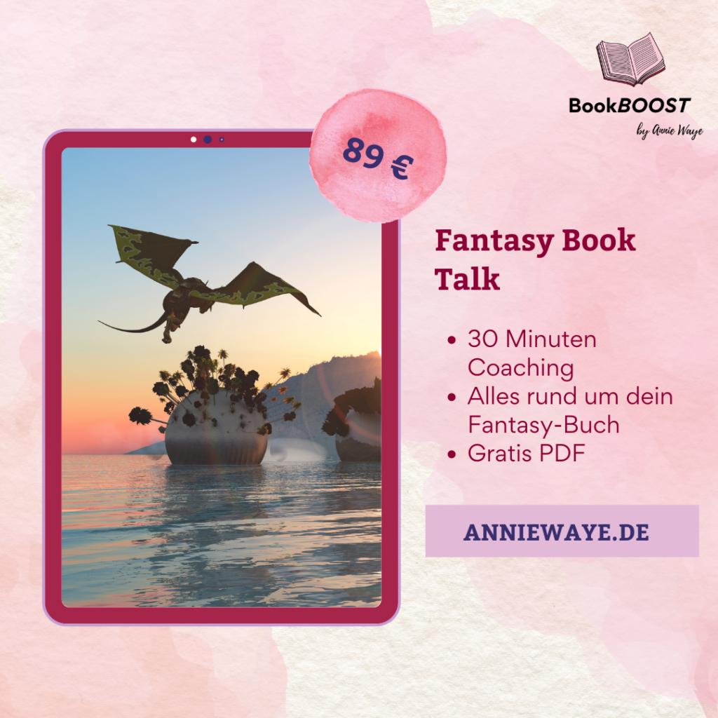 BookBOOST Autoren-Coaching: Coaching zu deinem Fantasy-Roman