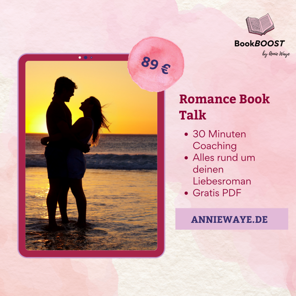 BookBOOST Autoren-Coaching: Coaching zu deinem Liebesroman